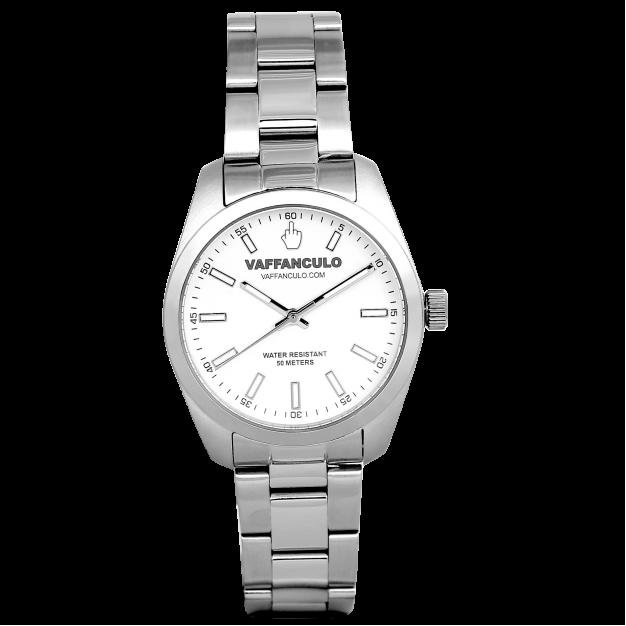 Orologio Bianco Vaffanculo 36mm