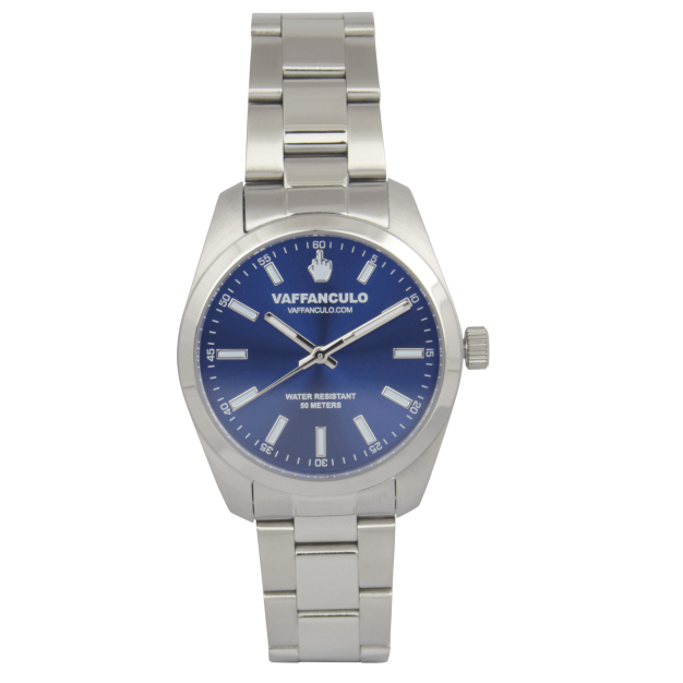 Vaffanculo 36mm Blue Watch