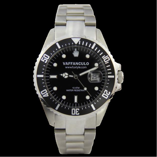Orologio Nero Vaffanculo 40mm