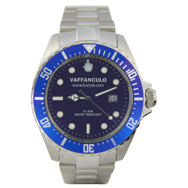 Orologio Blue Vaffanculo 45mm