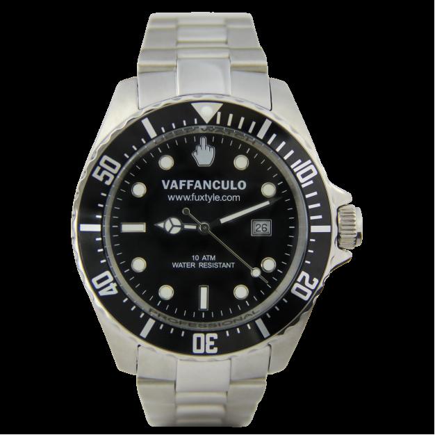 Orologio Nero Vaffanculo 45mm