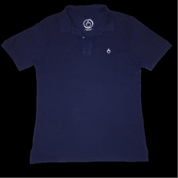 Vaffanculo Blue Shirt